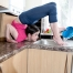 contortionist-washing-up